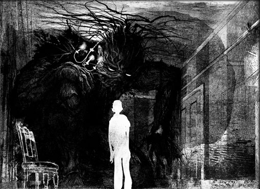 Resultado de imagen de un monstruo vienen a verme