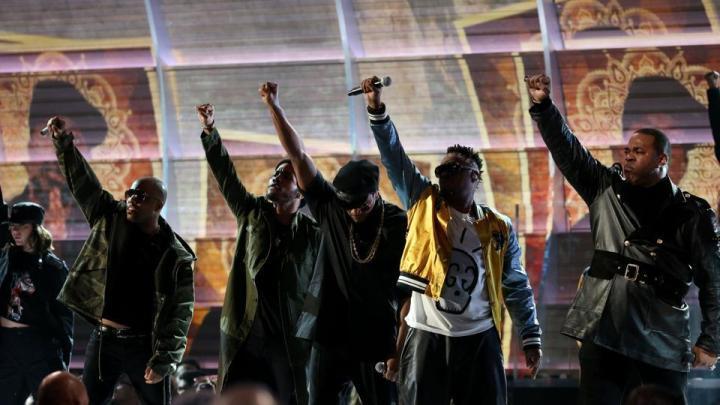 A Tribe Called Quest y Anderson Paak en la gala de los Grammy