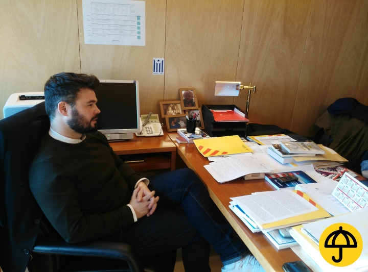 Entrevista Gabriel Rufián