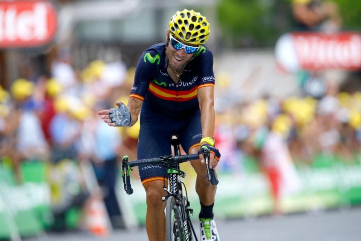 Tour de France 2015 - 102a Edizione - 17a tappa Digne les Bains - Pra Loup 161 km - 22/07/2015 - Alejandro Valverde (Movistar) - foto Luca Bettini/BettiniPhoto©2015