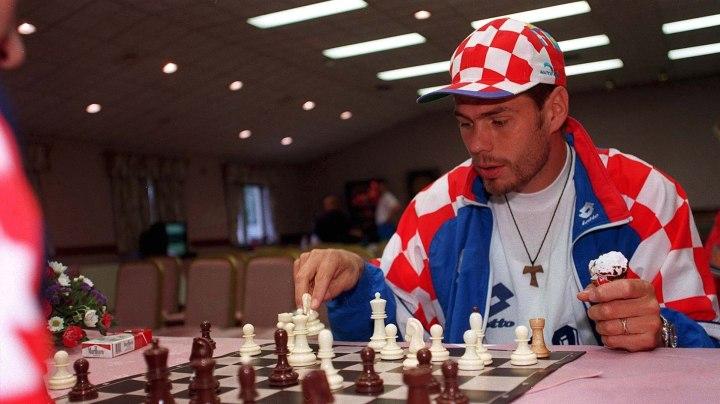 Zvonimir Boban en la Eurocopa de 1996